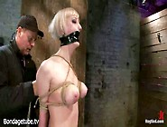 Blonde Cherry Torn Loves To Suffer