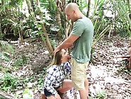 Friend's Daughter Gives Dad Handjob Mature Daddy Backwoods