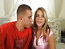 A Young Amateur Couple Make The First Casting