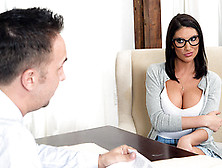 August Ames Featuring In Getting Off The Waitlist