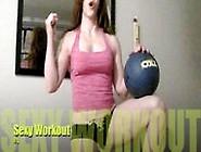 Catherine De Sade Sexy Workout 1
