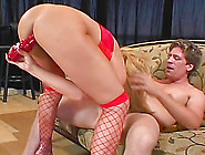 Cowgirl Taking Monster Cock Hardcore Missionary While Yelling