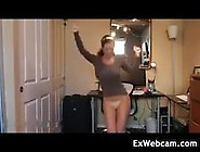 Busty Cam Girl Dancing Video