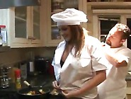 Sensuous Cook Is Being Amazed By The Great Penis Inside A Kitche