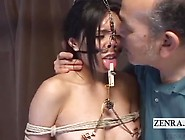 Extreme Japan Nose Hooks And Clamps Bdsm Subtitles