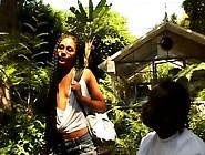 Black Chick With A Fine Ass Gets A Reward After A Nice Stripteas