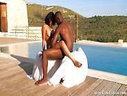 Ebony Lovers Learn Exotic Sex