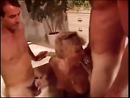 Brandy Goes Wild With Two Cocks