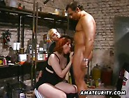 Redhead Amateur Milf Sucks And Fuck With Facial Cumshot