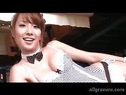 Corset And Panties Are Sexy On Japanese Teen
