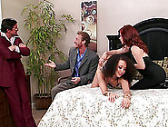 Adrenalized Redhead Deliver A Superb Blowjob To Her Dude Kin A R
