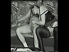 Lady Black & White Slut Wife