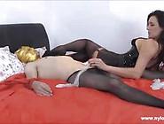 Dominant Milf Teasing Her Slave