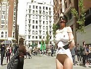 Slutty Marta Gets Humiliated In Public
