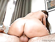 Sex-Crazy Milf Rides Young Neighbor While Husband Is Out Of Town