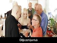 Seven Old Men Gangbang Fucking Blonde Secretary Dp And Crazy Fac