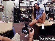 Black Latina Nurse Fucking In A Pawn Shop For Money