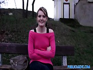 Publicagent: Meggie Seetles For Sex For Cash Behind The Church