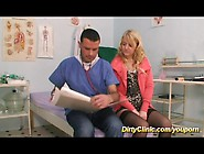 Hot Stocking Blonde Gest Fucked By Doctor