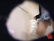 Hidden Camera Shot Pooping Japanese Girl In The Women Restroom -