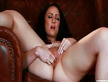 Sexy Brunette Amateur With Her Fingers In Her Pussy