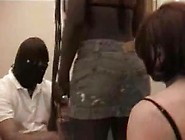 Sissy White Cuckold Man Dominated By Black Teen