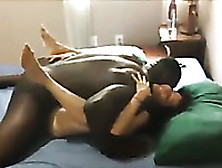 Getting My First Taste Of Big Black Cock In Front Of My Cuckold