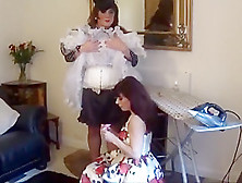 Madame C Fits Angelica S Pink Chastity Device