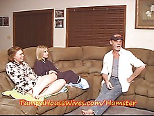 Never Trust A Horny Babe Housewife