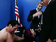 Hungry Mature Politicians Gangbang One Dumpy Tattooed Whore Hard