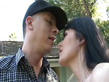 Eva Karera Seduces The Younger Man Into Her Milf Pussy