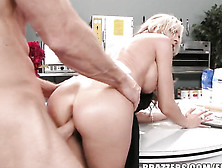 Sexy Blonde Pronstar Sindy Lange Gets Screwed