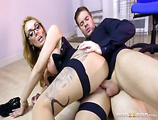 Blonde Sex Video Featuring Ryan Ryder And Stacey Saran