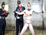 Hot German Femdoms Lullu Gun And Lady Cosima Torture Their Feet