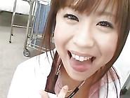 Busty Nana Aoyama - Happy Bukkake Cum Nurse