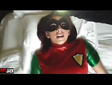 Superheroine Corrupted By Villain