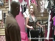 Big Titty Milf Sluts Fool Around With Black Guy In Store