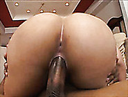 Incredibly Hot Latina Brunette Cowgirl Slaps Her Big Ass While R
