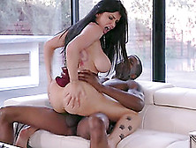 Romi Rain Cannot Resist A Black Fellow's Erected Prick