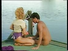 Vintage-Nina Hartley Fuck Peter At The Lake