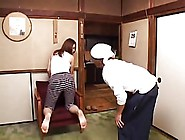 Workers Got Horny With Japanese Housewife