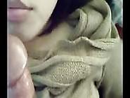 Asian Girl Closeup Pov Blowjob With Cum Ending