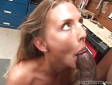 Big Black Cock Blown And Boning Her From Behind