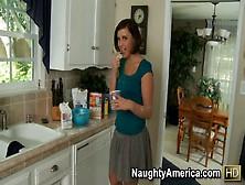 Brooke Lee Adams Takes Her Mans Cock Deep In Her Pussy