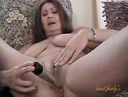Big Natural Breasts Are Beautiful On A Masturbating Mom