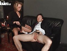 Whip It Hard On His Cock