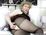 Big Granny Ass Is Sexy In Sheer Pantyhose