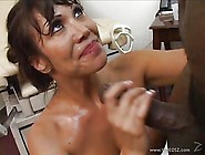 Stunning Asian Nurse With Big Tits Loves Banging A Huge Black Co