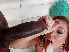Huge Black Member Is All Brunette Chick Maddy O'reilly Craves