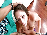 The Cock Is Just To Big For Her But She Will Take It